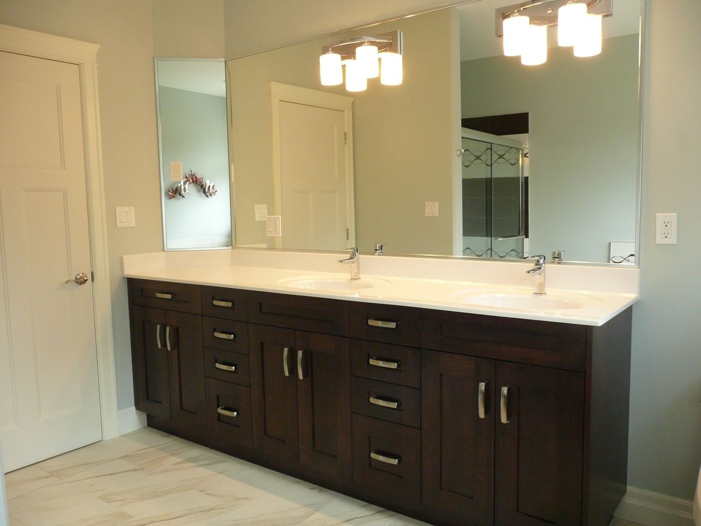 Replace Bathroom Sink >> Cultured Marble Bathroom Sinks and Vanity Tops – Precision Marble
